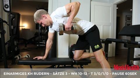 Sie wollen Muskeln aufbauen, und zwar im Eiltempo? Unser Experte erklärt Ihnen im Video, wie Sie mit der 10-Satz-Methode rasch ans Ziel kommen