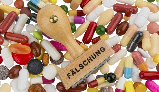 Sind die Medikamente nicht in der Originalverpackung, sind sie mit aller Sicherheit gefälscht