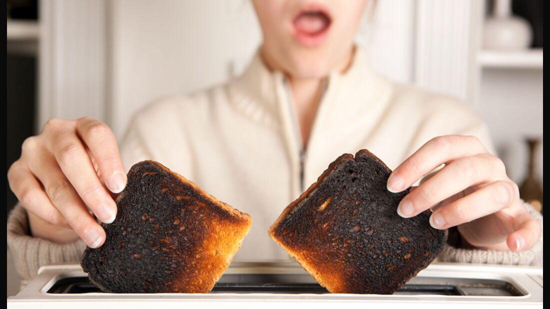 Sind die verbrannten Stellen an Lebensmitteln krebserregend?
