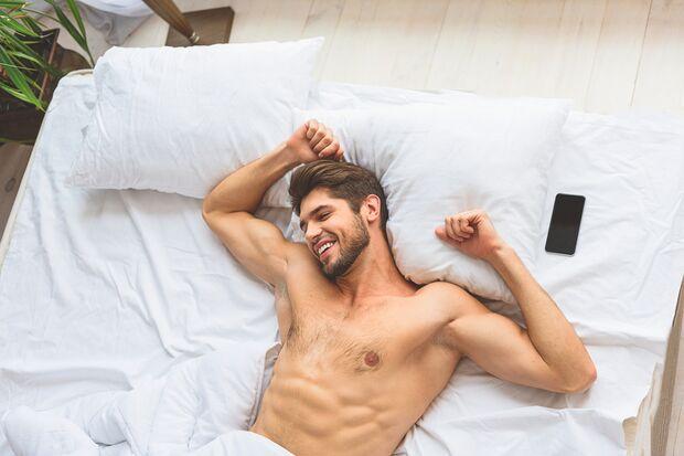 Singles schlafen besser