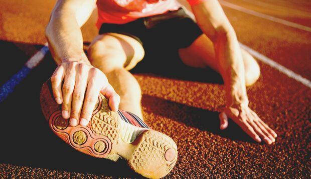 Sinnlos: Stretchen vorm Sport