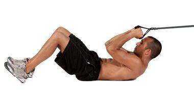 Sixpack-Challenge-Trainingsplan: 55 Übungen