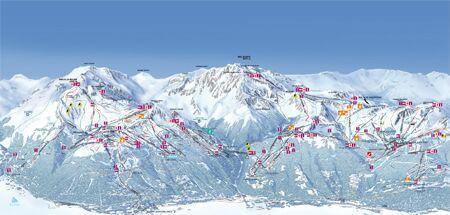 Skigebiet Les Arcs
