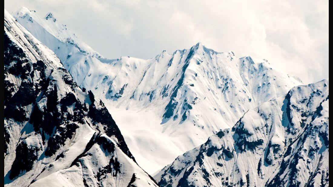 Skigebiet in der Schweiz
