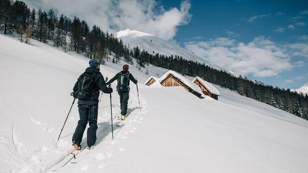 Skitourengehen in Obertauern: der Weg zur Kesselspitze