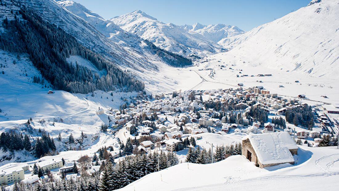 Skiurlaub in Andermatt-Sedrun