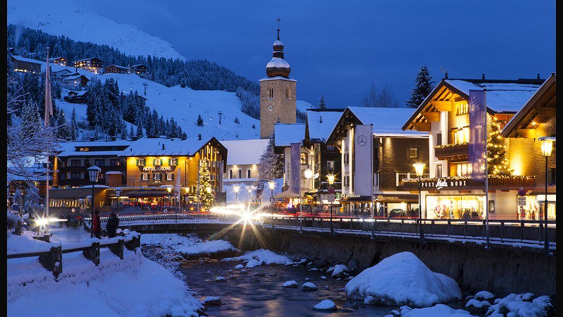 Skiurlaub in Lech/Zürs