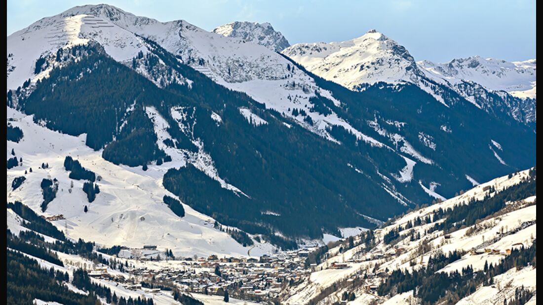 Skiurlaub in Saalbach Hinterglemm Leogang Fieberbrunn