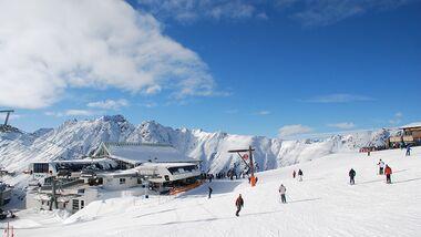 Skiurlaub in Samnaun und Ischgl