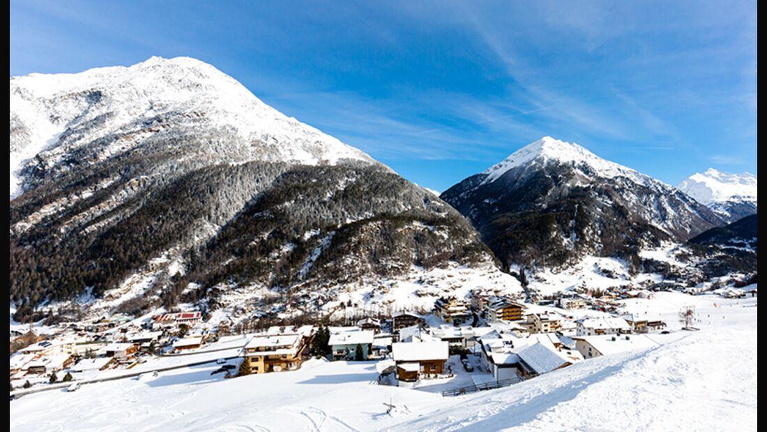 Skiurlaub in Sölden in Tirol