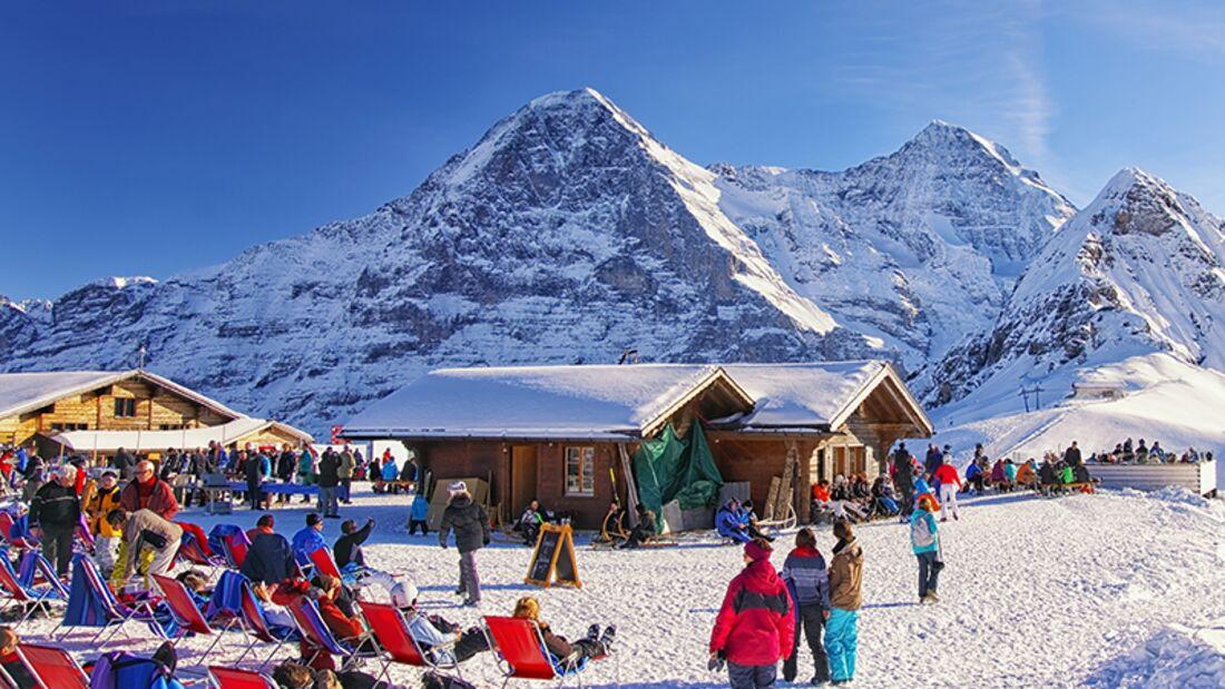 Skiurlaub in der Jungfrau-Region