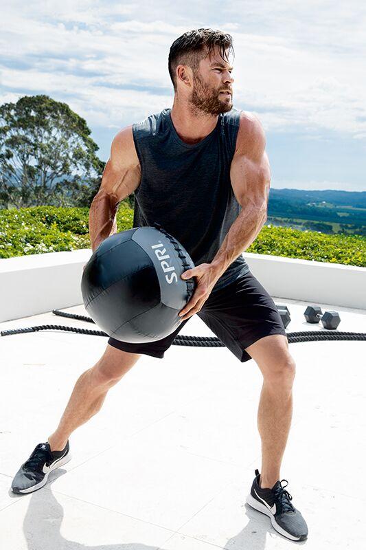 Slam-Balls und Battle-Ropes: Chris Hemsworth setzt auf funktionelles Training