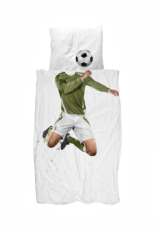 So Schlafen Fußballhelden: Bettwäsche von Snurk
