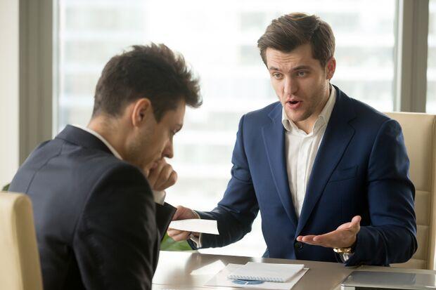 So behaupten Sie sich im Gespräch mit dem Chef
