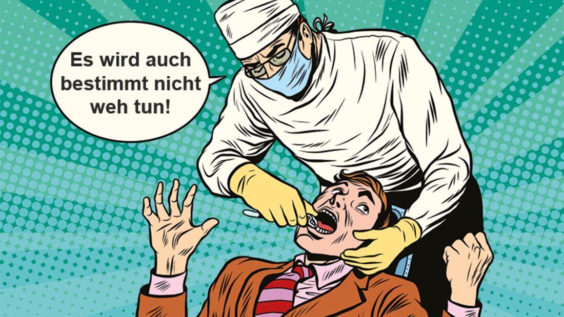 So besiegen Sie in 3 einfachen Schritten die Angst vorm Zahnarzt