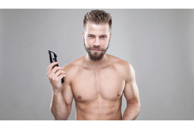 Unterarme rasieren mann