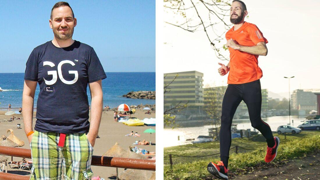 So nahm Leser Johannes 35 Kilo in 6 Monaten ab!