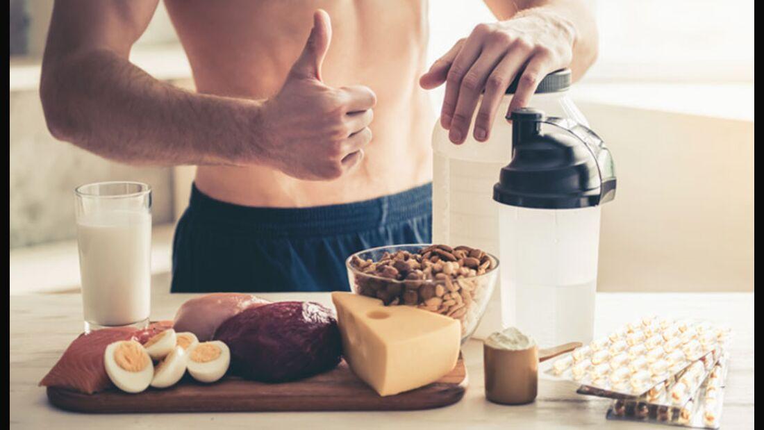 So pushen EAAs Ihren Muskelaufbau