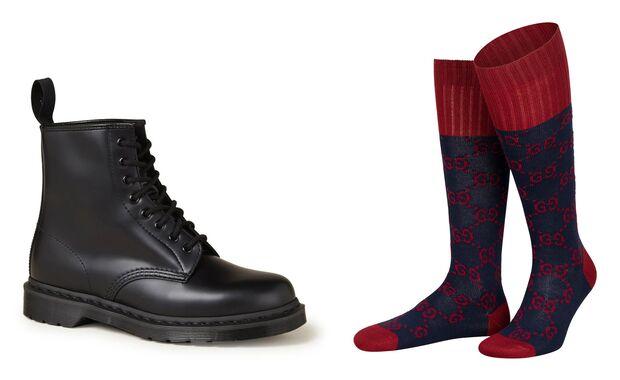 Socken und Schuhe SS21 / Dr Martens - Gucci