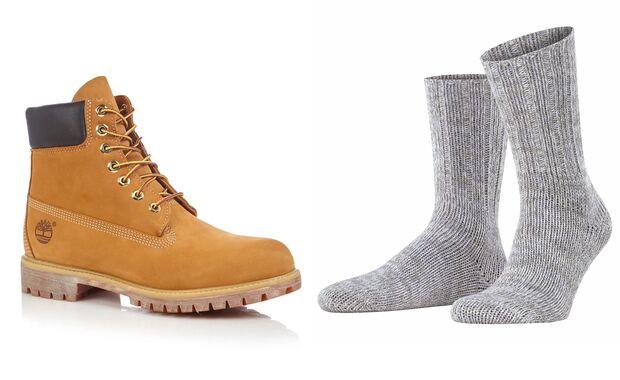 Socken zum Schuh SS21 / Timberland - Falke