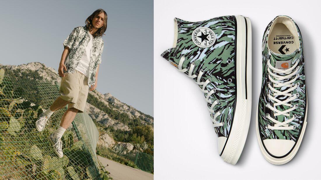 Sommer Sneaker-Trends SS 2021 / Converse x Carhartt WIP