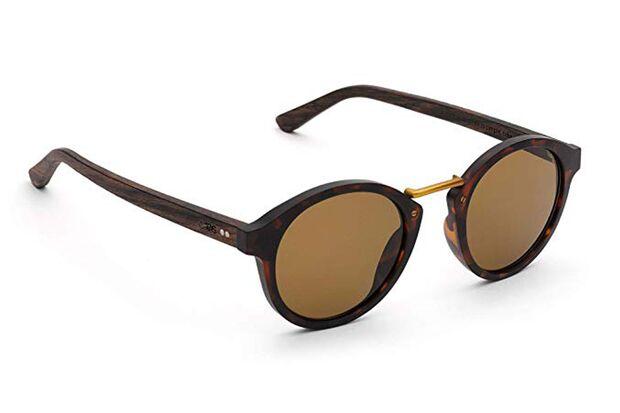 Sonnenbrille aus Holz