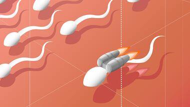 Sperma frei! Aber wie steht es mit dem Vitaminhaushalt?
