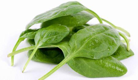 Spinat enthält viel Eisen