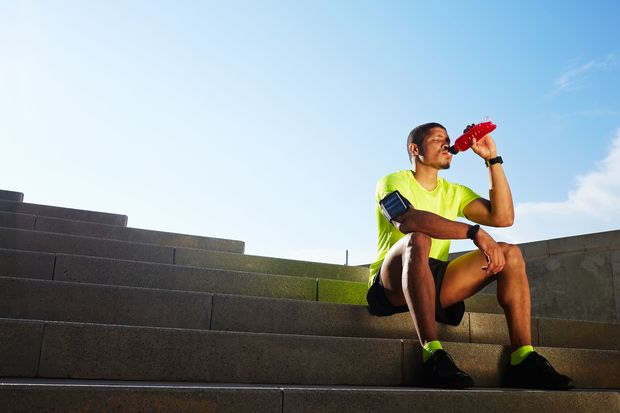 Sports drinks often contain tons of sugar