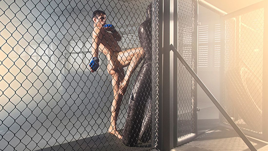 Sportstars nackt: Sascha Sharma – Kampfmaschine, von innen wie von außen