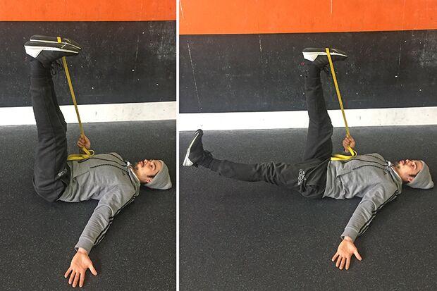 Stabi-Move: Leg Lowering
