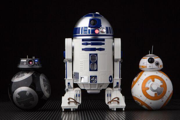 Star Wars zum Fernsteuern: BB-9E, R2-D2 und BB-8 von Sphero