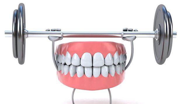 Starke Zähne, starker Körper