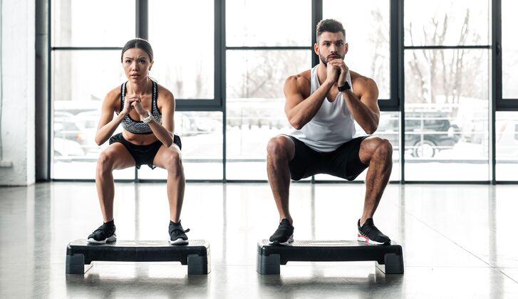 Stepboard Training für mehr Koordination und Kraft MEN'S