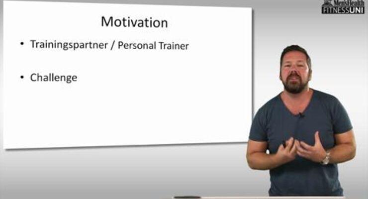 Stephan Geisler lehrt an der IST-Hochschule in Düsseldorf. Bei uns beantwortet der Sportwissenschaftler Ihre Fragen zum Krafttraining, diesmal zum Thema mentale Tricks beim Krafttraining
