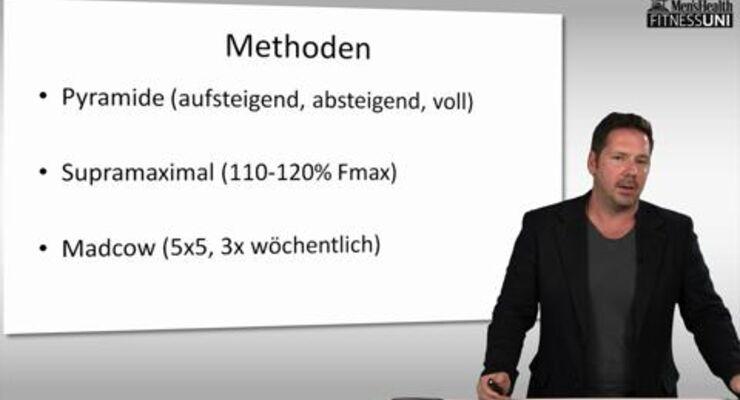 Stephan Geisler lehrt an der IST-Hochschule in Düsseldorf. Bei uns beantwortet der Sportwissenschaftler Ihre Fragen zum Krafttraining, diesmal zum Thema sportartspezifisches Training
