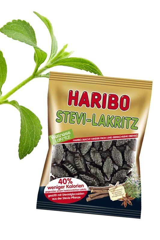 Stevia-Lakritze von Haribo