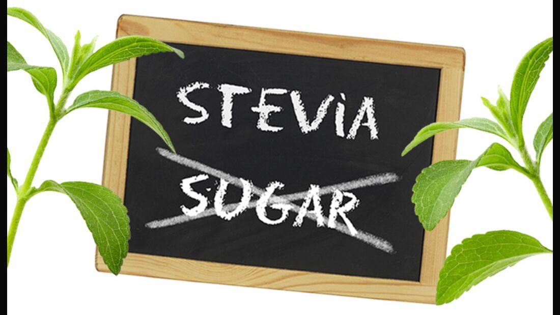 Stevia-Produkte im Geschmackstest