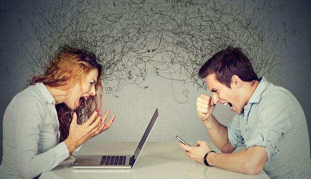 Stress, Streit und Lärm gehören zu den Hauptursachen für Tinnitus