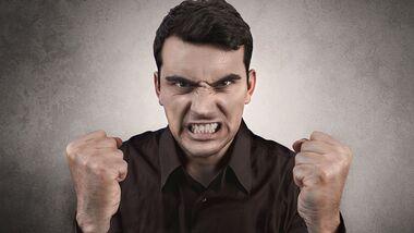 Stress und Wut können den Blutdruck in die Höhe schnellen lassen