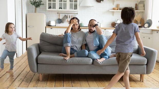 Stressige Situation am Morgen und am Abend mit Kindern lassen sich kaum vermeiden