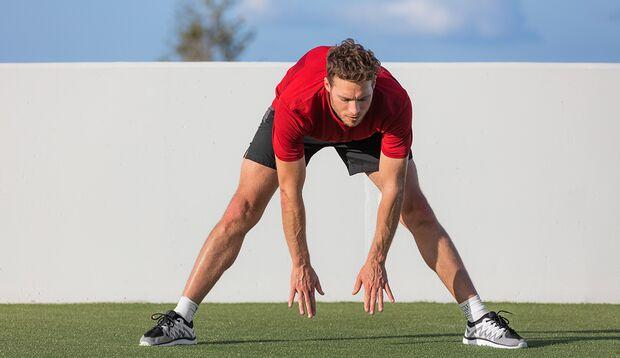 Stretching löst Verkürzungen aus dem Stand heraus.