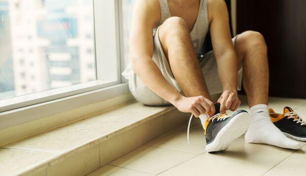 Strümpfe in Sportschuhen sollten täglich gewechselt werden