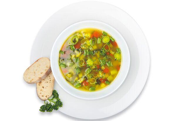 Suppe ist super zum abnehmen