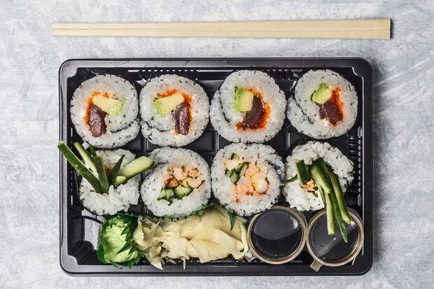 Sushi ist gesund und geht schnell