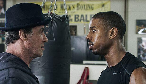 """Sylvester Stallone ist zurück in seiner Paraderolle. Und schickt in """"Creed – Rocky's Legacy"""" seinen Nachfolger in den Ring"""