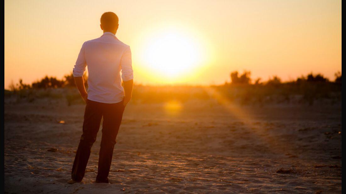Tanken Sie ausreichend Sonne