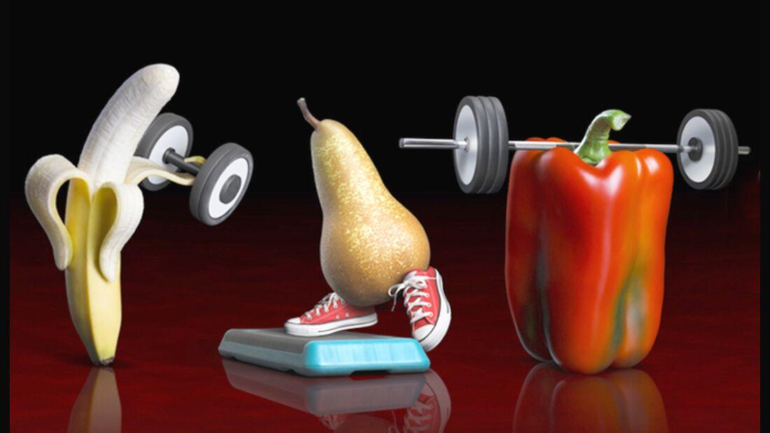 Tanken Sie ordentlich Kraftstoff aus Gemüse