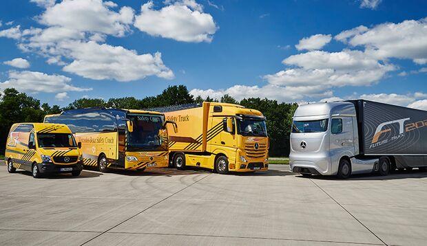 Taxi, Bus, LKW: Die Technik des Future Truck von Mercedes-Benz könnte ganze Berufsbranchen betreffen