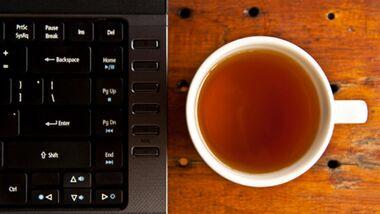 Tee macht mittags munter